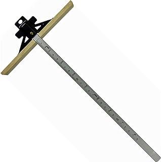 YSS 丸のこ定規 樫羽付き 300mm