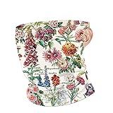 Adolphe Millot Fleurs Pour Tous - Pour Tous - Póster, unisex, transpirable, cubrecuello, cubrebocas, diademas, pasamontañas, bufanda para protección al aire libre