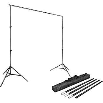LimoStudio Photo 3 Background Backdrop Muslin Holder for All Types of crossbars and Background Supports