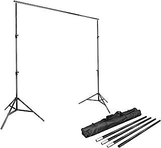 LimoStudio Photo Video Studio 10Ft Adjustable Muslin Background Backdrop Support System..