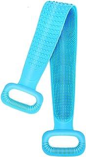 Exprimidor de silicona para el cuerpo, el cepillo para polvo de baño de silicona ha actualizado hasta 29.9 pulgadas, es má...