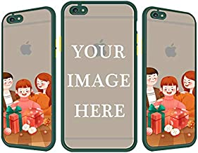 Custom iPhone 6/6s Case, Translucent Matte Back with Soft Edges Full Body Shockproof Protective Hard Cover Case for Apple iPhone 6/6s-Design Your Own iPhone Case
