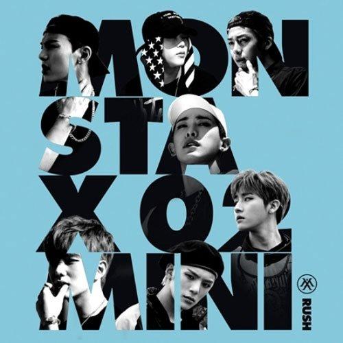 MONSTA X [ RUSH ] 2nd Mini Album SECRET Ver. CD + Booklet + Photocard Sealed Package