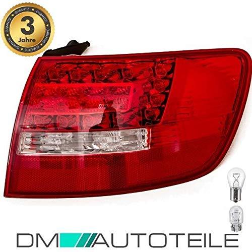 DM Autoteile A6 4F C6 Avant LED Rückleuchte Außen Rechts FACELIFT+ LEDS+Birnen KOMPLETT