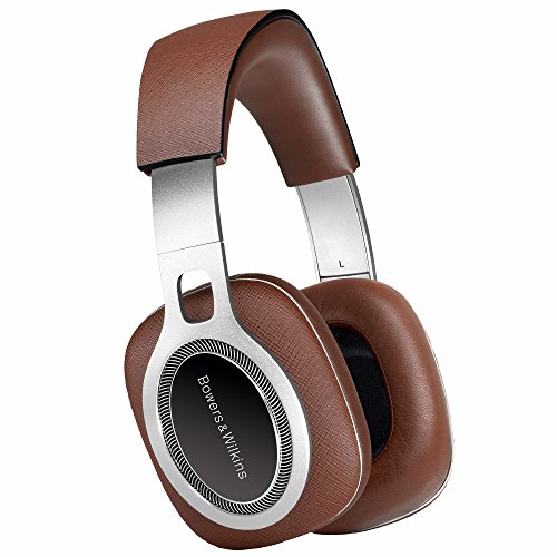 Bowers & Wilkins P9 Signature HiFi Over Ear Headphones, Wired, Italian Leather