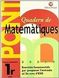 Quadern Pont Matematiques 1ºeso CataluÑa