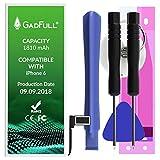 GadFull Batterie Compatible avec iPhone 6 | 2019 Date de Production | Y Compris Un...