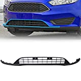 ECOTRIC New Front Lower Spoiler Valance Panel Lip Chin Grill Grille Compatible with 2015-2018 Ford Focus Replace Part# F1EZ17626A