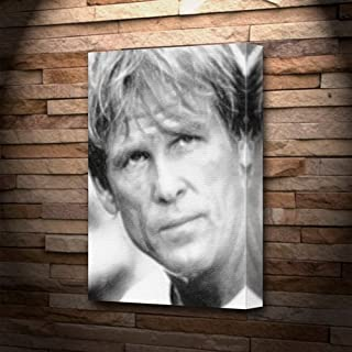 NICK NOLTE - Canvas Print (A4 - Signed by the Artist) #js001