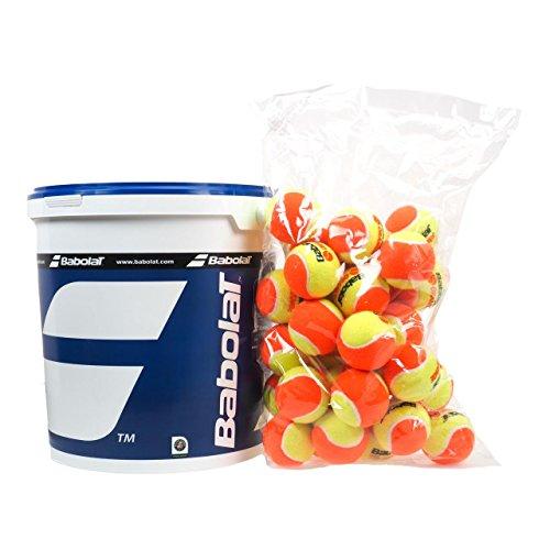 Babolat Box X36 Tennisball, Gelb/Orange, Einheitsgröße