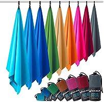 Microvezel handdoeken in ALLE afmetingen/12 kleuren - ultralicht, compact, sneldrogend - Microvezel handdoek - de...