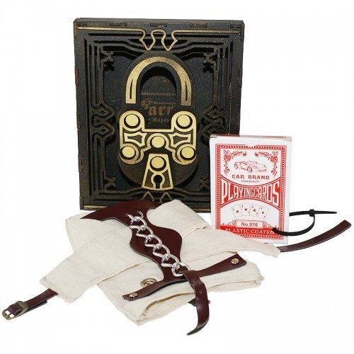 Mazzo di carte Copag Gold T.H.E - dorso rosso - Mazzi Copag - Carte da gioco - Giochi di Prestigio e Magia