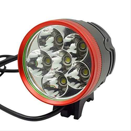 hhxiao LED Fahrradlicht 10000 Lumen Fahrrad Licht 6 * t6 Led Fahrrad Fahrrad Lampe Scheinwerfer Taschenlampe Bike Outdoor Scheinwerfer