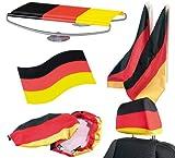 PEARL Fan-Produkte: 8-teiliges Auto-Fanset Deutschland (Fan Artikel)