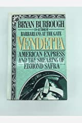Vendetta: American Express and the Smearing of Edmond Safra Hardcover
