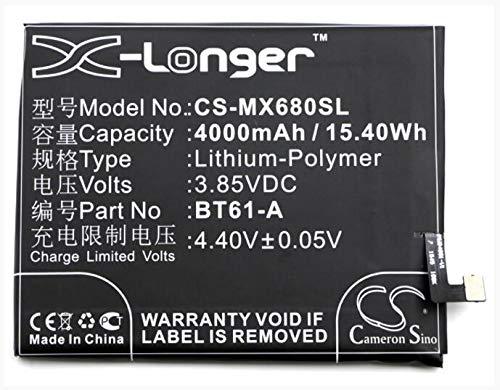 4000mAh battery for MEIZU M3 Note M3 Note Dual SIM M3 Note Dual SIM TD-LTE 16GB M681C M681Q Meilan Note 3 BT61-A