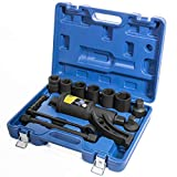 XtremepowerUS Torque Wrench Labor Saving Lug Nut Wrench Torque Multiplier w/Cr-v Socket (Torque Wrench W/ 8pc Socket Set)