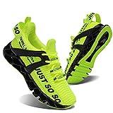 スニーカーキッズ子供靴男の子女の子テニスシューズスポーツファッション運動靴ジョギングトレーニングランニング軽便通気性蛍光グリーン20.5cm