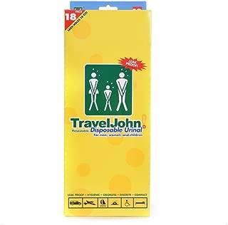 Travel John Disposable Urinal(18 Pack)
