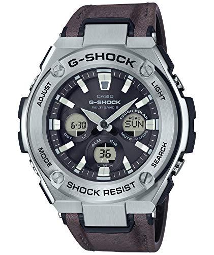 [カシオ] 腕時計 ジーショック G-STEEL 電波ソーラー GST-W330L-1AJF メンズ ブラウン