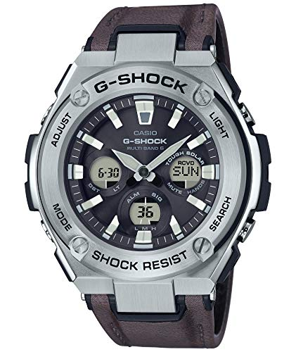 Casio] Watch G Shock G-Steel Solar Radio GST-W330L-1AJF Men's Brown