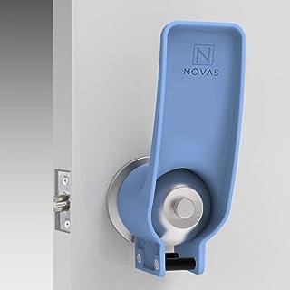 非接触ドアオープナーEDC手首タイプハンズフリードアオープナー取り付け簡単人間工学ドアハンドルのために 手を清潔に保つため に適用可能コンビニエン病院、家族 、会議室,10PCS
