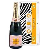 Champagne Veuve Clicquot - Rosé - Sous caissette Edition limitée'Tape'