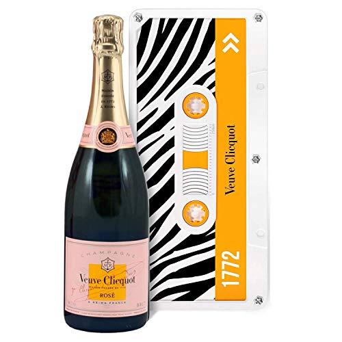 Champagne Veuve Clicquot - Rosé - Sous caissette Edition limitéeTape
