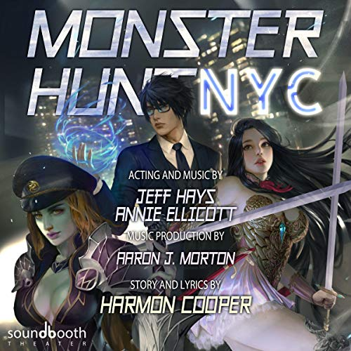 Monster Hunt NYC audiobook cover art