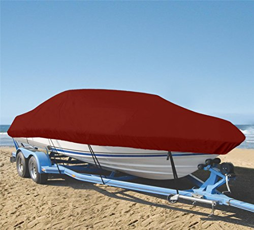 Check Out This SHT-SBU 9 oz Boat Cover Custom Cover Exact FIT for Carolina Skiff 198 DLV CC no Bow R...