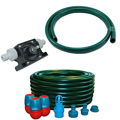 AQUA.REFIT Wasserbetten Service Set Befüllset Entleerung Bohrmaschinenpumpe Mono Pumpe