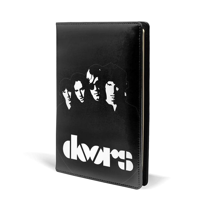 何よりもアフリカ人メディカルブックカバー ザ?ドアーズ The Doors ノートカバー 文房具収納 対応 A5/ 新書/文庫/マンガ/ノートオフィス用品