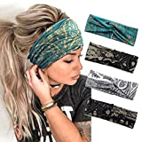 Catery Boho Headbands Criss Cross