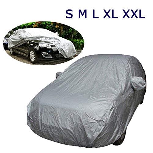 Coche Parasol Cubiertas del coche universal tamaño de la caja automática al aire libre cubierta del coche completo a prueba de viento impermeable ULTRAVIOLETA de nieve polvo resistente a la ensenada d