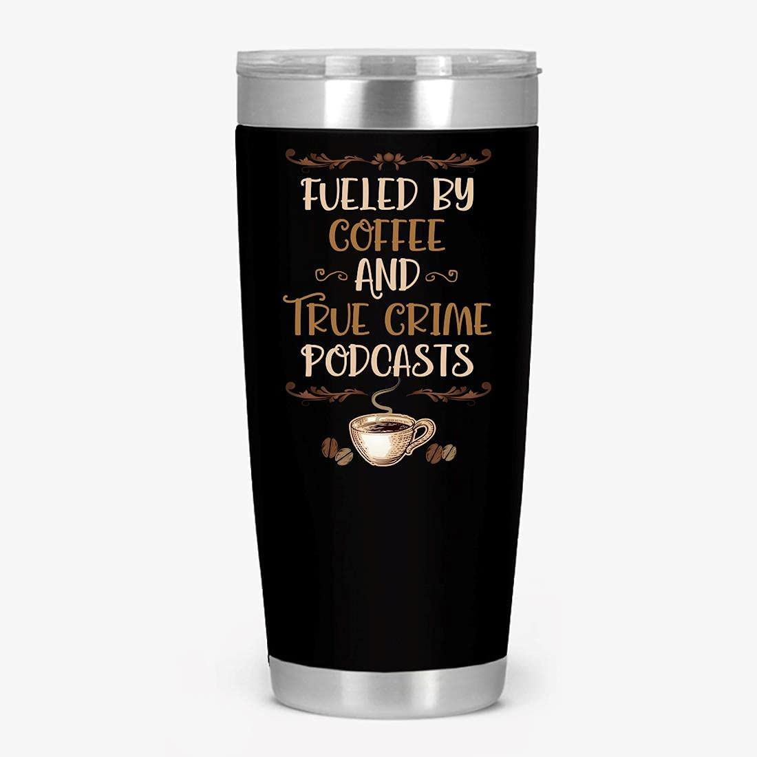 Fueled By Coffee 予約 And True 人気海外一番 Podcasts Crime Wall Double