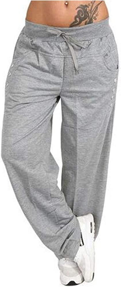 High Waist Style Sports Yoga Max 47% OFF Trouser Pants Cas Long Fresno Mall Casual Women