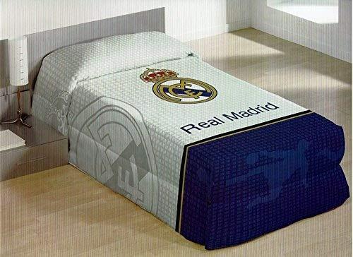 Manterol Oferta 2 X 1 - Colcha Enguatada Conforter Real Madrid Estadio 118 c13 Oficial (180X250 cm)