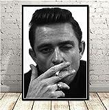 tgbhujk Poster und Drucke Johnny Cash Rockmusik Band Star