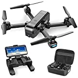 Contixo F22 FPV Foldable Drone with Camera for Adults, Kids, and Beginners - RC Quadcopter with 4K FHD Camera - Gesture Control for Selfie - GPS Auto Return - Follow Me - Carrying Case