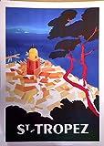 Saint Tropez-Louis De Funes, Motiv, 50 x 70 Cm/Poster
