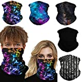 COMFORTABLE: Our Face scarf mask bandana is made of Soft, lightweight, Breathable, and moisture-wicking fabric, draw sweat away from your face and dry quickly, keep you cool and comfortable in the summer. STRTCHY AND DURABLE: Size--19.5inch X 9.5inch...