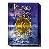Baraja Runes Oracle por Cosimo Musio, Set de 24 Cartas de Interpretación y Guía Multilingüe en Caja Dura.