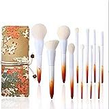 PPMSHUAY Make-Up Pinsel Pinsel Ahornblätter Professionelle Make-Up Pinsel Foundation Foundation...
