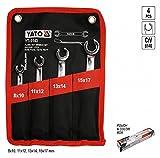 YT Yato-0143-deux clés plates trous 8-17 mm
