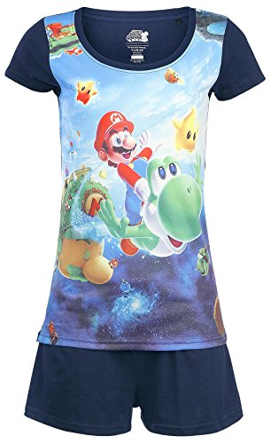 Super Mario Super Mario Galaxy 2 Pyjama Multicolour L
