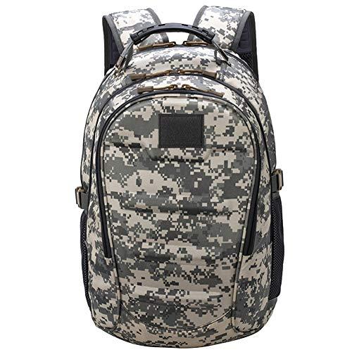 HotYou Mochila Militar Táctica Mochilas Molle Acampada Camping Senderismo Deporte Backpack de Asalto Patrulla