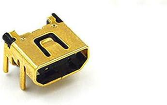 Power Jack Charging Port Socket Connector Dock for Nintendo DS Lite DSL NDSL Part - Gold