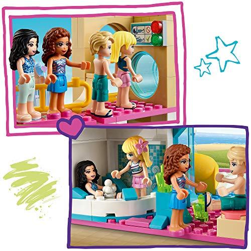 LEGO Friends DivertimentoEstivoalParcoAcquatico con le Mini-doll di Stephanie,EmmaeOlivia,Giocattoli per le Vacanze Estive, 41430
