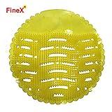 FineX Plastic Urinal Screen Mat (Multicolour, Standard Size) -10 Pieces Set