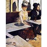 Wee Blue Coo Edgar Degas The Absinthe Drinker 1876 Old